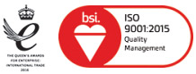 Queens Award and ISO 9001:2015